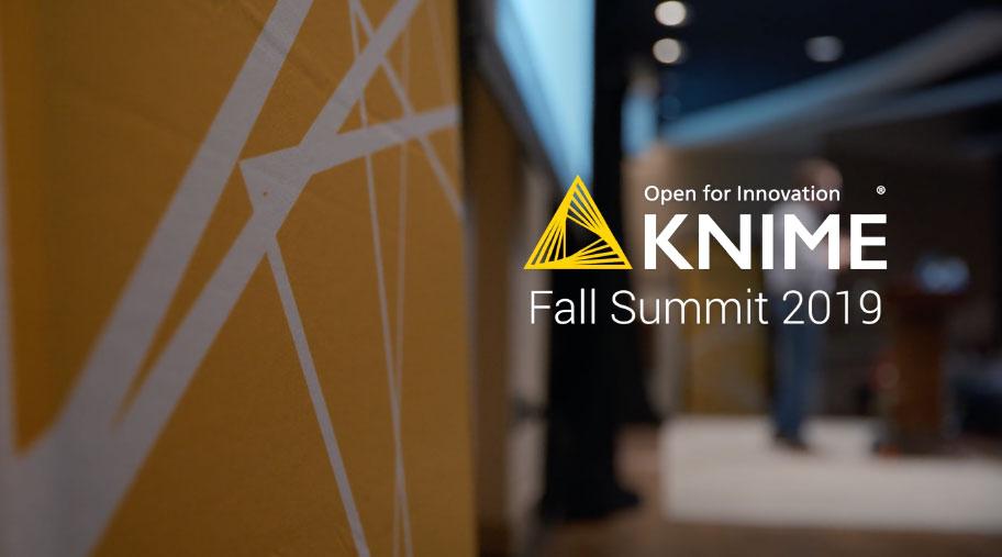 Knime Fall Summit 2019